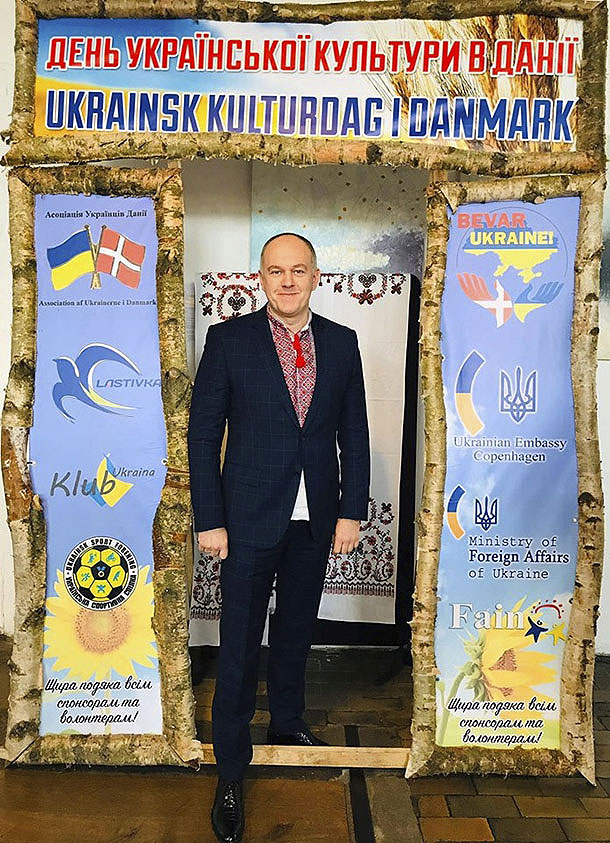 ambassador of ukraine to denmark mykhailo vydoinyk ukranian culture day