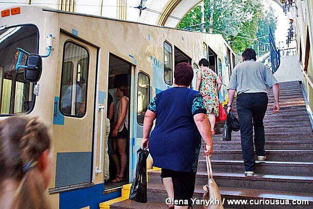 Funicular 2 Kyiv Ukraine photo Olena Yanykh