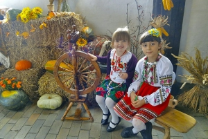 Many children came to «Ukrainian cultural day in Denmark». For them it was also interesting.