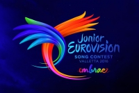 The logo of Junior Eurovision 2016 consists of the competition's core values: unity, diversity, creativity and respect.