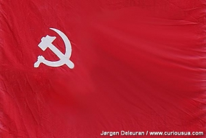 Flag of Soviet Union.