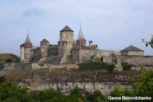 Kamianets-Podilskyi Fortress is the official symbol of the city.