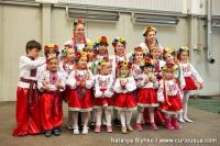 The Ukrainian children who were dancing and singing at the Cultural Festival 2015.