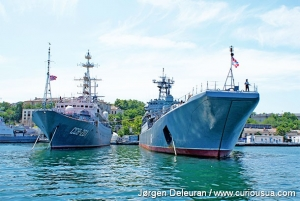 For those who like big ships, the Black Sea Fleet is worth a visit. 2011.